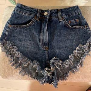 TopShop Denim Kiri Shorts